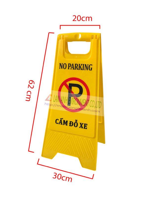 Biển báo cấm đỗ xe chữ A