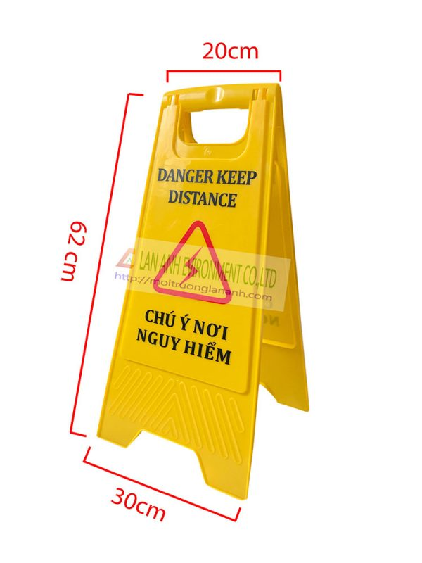 Biển báo chú ý nới nguy hiểm