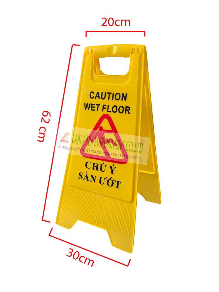 Biển báo chú ý sàn ướt