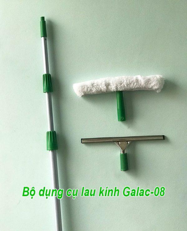 Bộ dụng cụ lau kính Galac-08