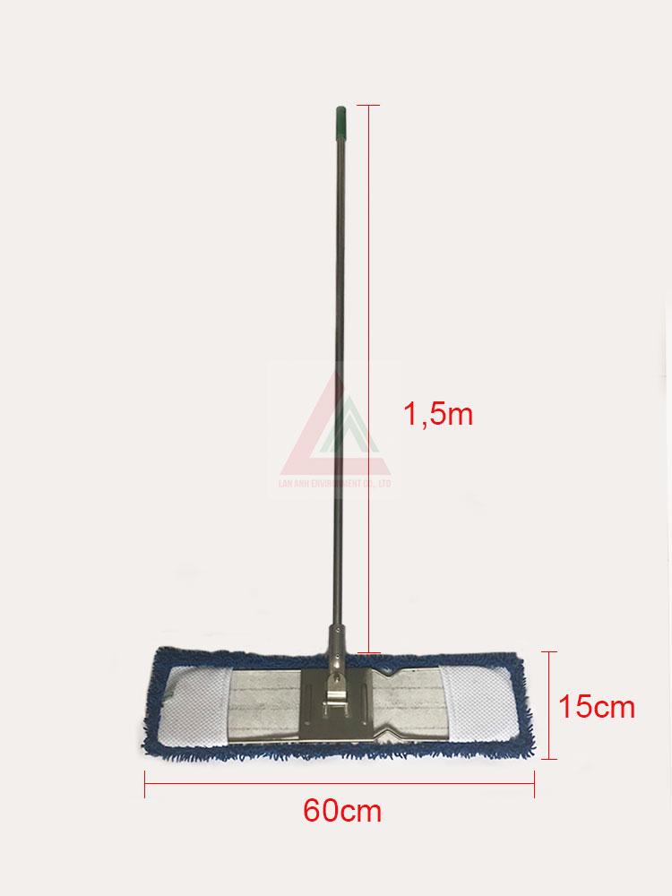 Cây lau nhà ẩm khô 60cm