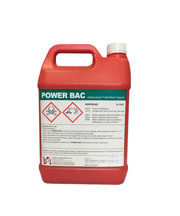 Hóa chất tẩy rửa bồn cầu Power Bac