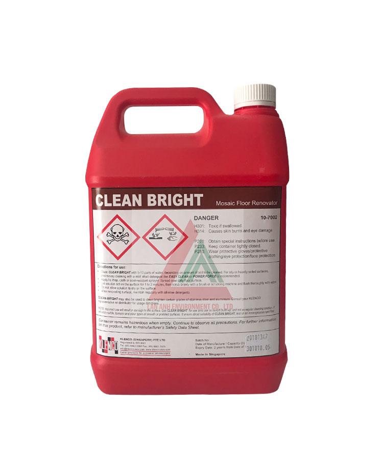 Hóa chất tẩy sàn Clean Bright