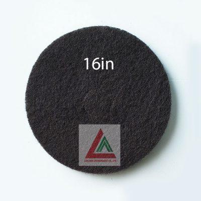 Pad chà sàn 3M màu đen 16in
