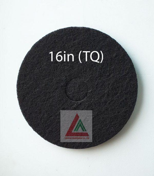 Pad chà sàn TQ màu đen 16in