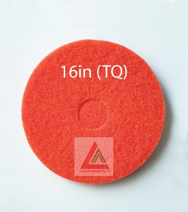 Pad chà sàn TQ màu đỏ 16in
