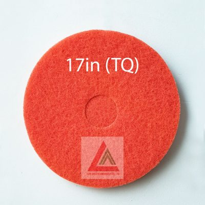 Pad chà sàn TQ màu đỏ 17in