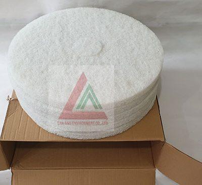 pad chà sàn màu trắng