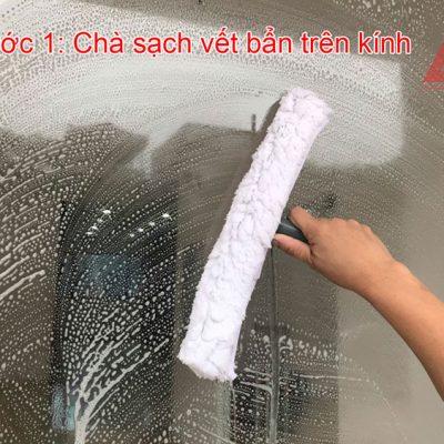 Cách lau kính nhanh và sạch