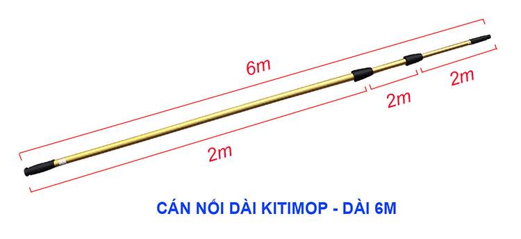 Cán nối dài kitimop dài 6m
