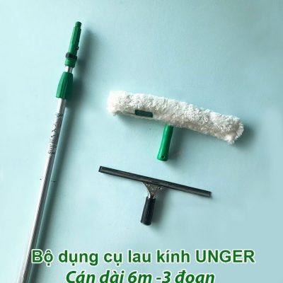 Bộ dụng cụ lau kính Unger dài 6m