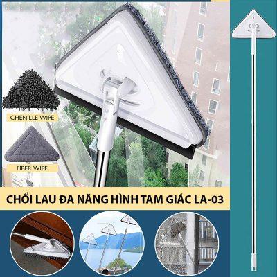 Chổi lau đa năng hình tam giác LA-03
