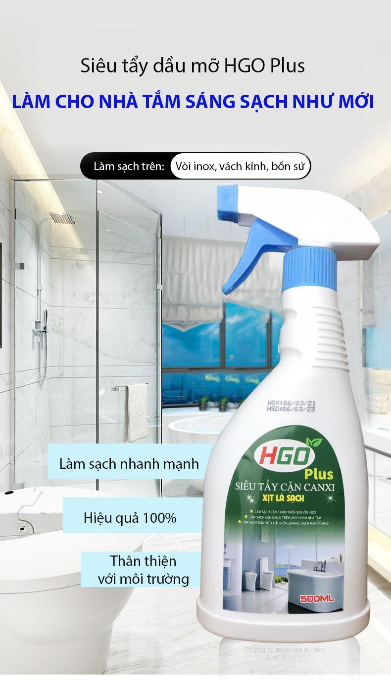 nước tẩy cặn canxi hgo plus 1111